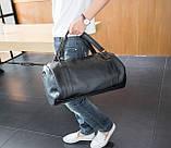 Мужская сумка черная, фото 5