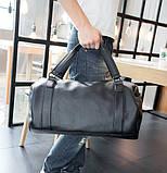 Мужская сумка черная, фото 6