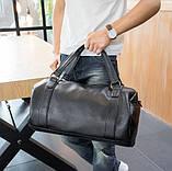 Мужская сумка черная, фото 8