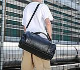 Мужская сумка черная, фото 9