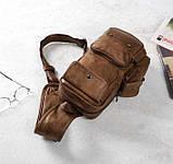 Мужская сумка мессенджер на плечо, фото 2