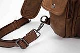Мужская сумка мессенджер на плечо, фото 5