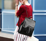 Модный женский рюкзак сумка, фото 2