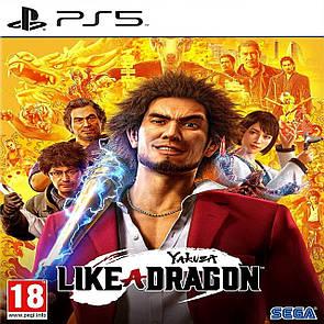 Yakuza: Like a Dragon (російські субтитри) PS5