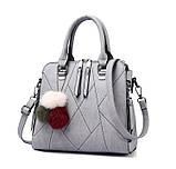 Кожаная женская сумка, фото 9