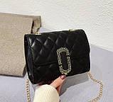 Стильна жіноча міні сумочка клатч, фото 2