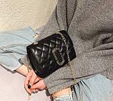 Стильна жіноча міні сумочка клатч, фото 3