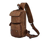 Мужской рюкзак сумка на плечо, фото 5