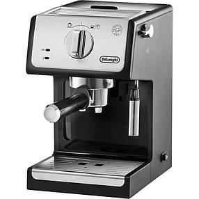 Рожковая кофеварка эспрессо Delonghi ECP 33.21, фото 2