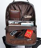 Мужской рюкзак из натуральной кожи, фото 5
