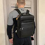 Мужской рюкзак из натуральной кожи, фото 7