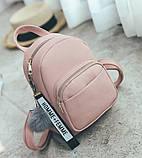 Женский маленький рюкзак эко кожа, фото 2
