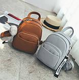 Женский маленький рюкзак эко кожа, фото 3