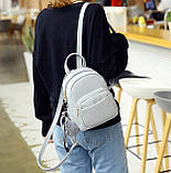 Женский маленький рюкзак эко кожа, фото 6