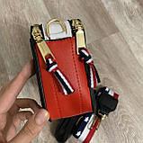 Жіноча сумка репліка, маленька сумочка клатч, міні сумка-клатч через плече, фото 10