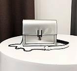 Модна жіноча лакова міні сумочка, фото 3