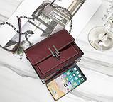 Модна жіноча лакова міні сумочка, фото 4