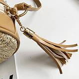 Модна жіноча сумочка солом'яний, фото 6