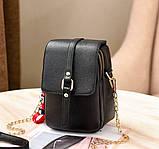 Маленька жіноча сумочка клатч, фото 2
