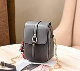 Маленька жіноча сумочка клатч, фото 8