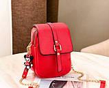 Маленька жіноча сумочка клатч, фото 9