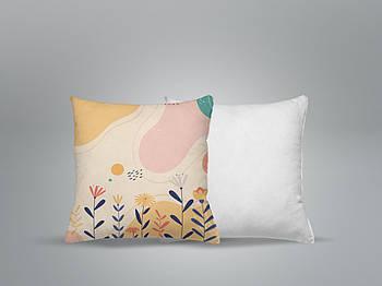 """Декоративная подушка для сублимации с принтом """"8 Марта"""" 35х35см.8В 5937"""