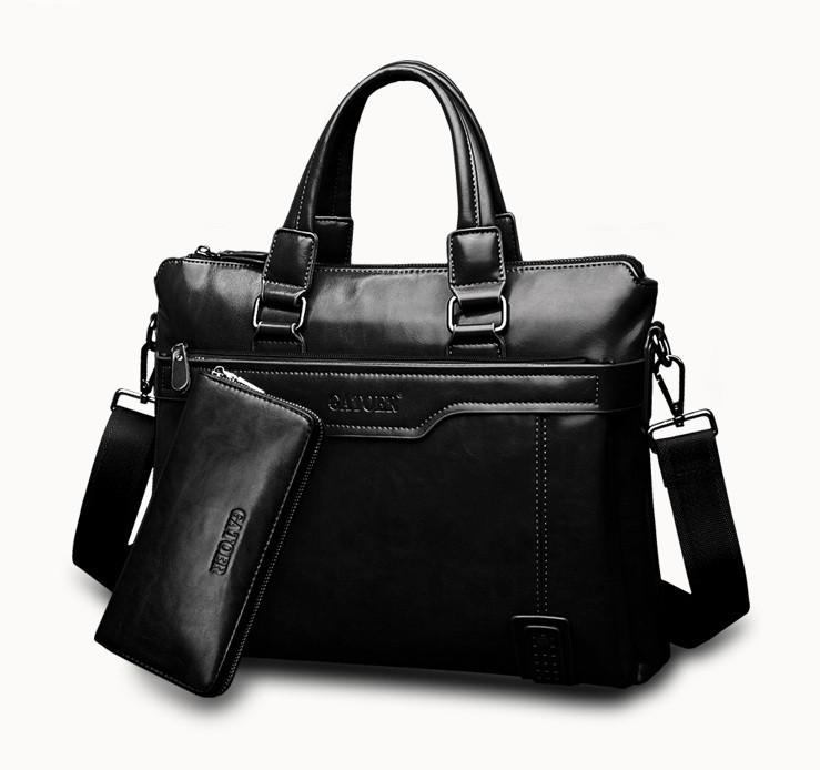 Чоловічий портфель для документів + клатч