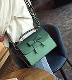 Стильная женская сумочка с бантиком, фото 2