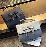 Стильная женская сумочка с бантиком, фото 3