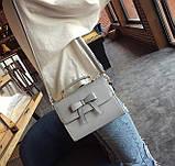Стильная женская сумочка с бантиком, фото 4