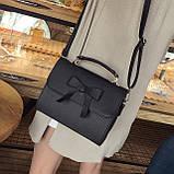 Стильная женская сумочка с бантиком, фото 5