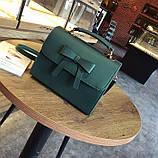 Стильная женская сумочка с бантиком, фото 8