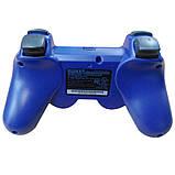 Джойстик контроллер геймпад для Sony PlayStation 3 DualShock Беспроводной ps3 bluetooth пс3 синий ( Реплика ), фото 3