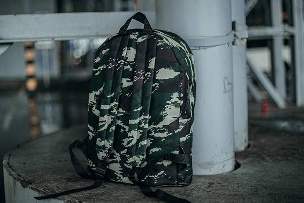 Рюкзак міський чоловічий, жіночий, для ноутбука Nike (Найк) камуфляж темний, фото 2