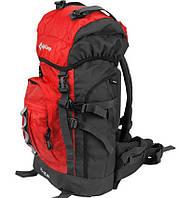 Качественный мужской рюкзак для путешествий 45 л. KingCamp POLAR (KB3302) Red красный