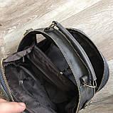 Качественная женская мини сумка Серый, фото 4