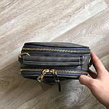 Качественная женская мини сумка Серый, фото 5