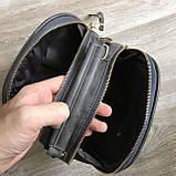 Качественная женская мини сумка Серый, фото 6