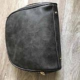 Качественная женская мини сумка Серый, фото 8