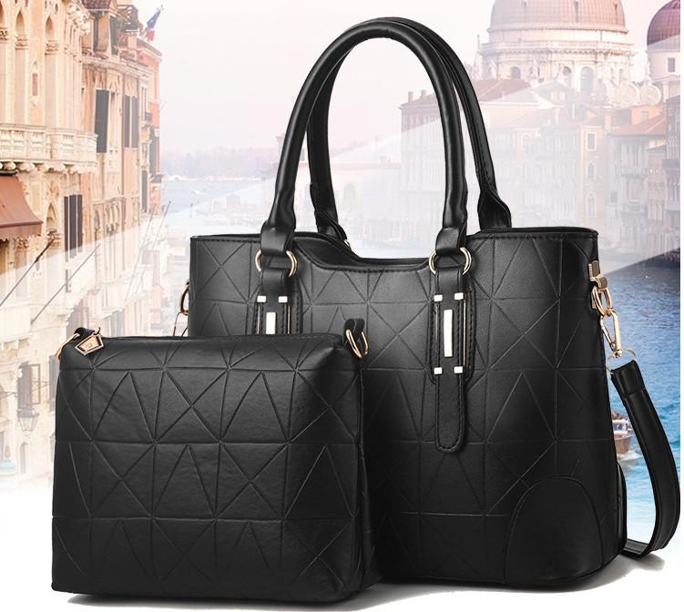 Набор женская сумка + мини сумочка клатч