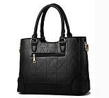 Набор женская сумка + мини сумочка клатч, фото 4