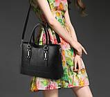Набор женская сумка + мини сумочка клатч, фото 6