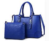 Набор женская сумка + мини сумочка клатч, фото 8