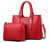 Набор женская сумка + мини сумочка клатч, фото 10