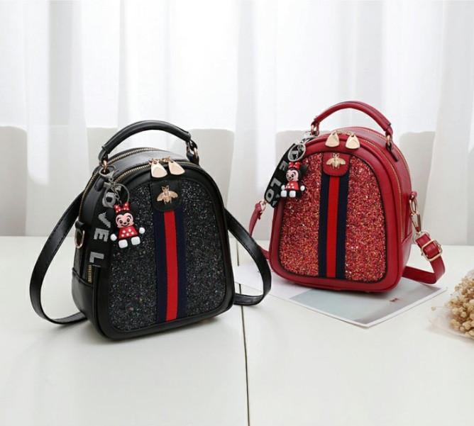 Стильний жіночий рюкзак сумочка