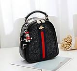 Стильний жіночий рюкзак сумочка, фото 2