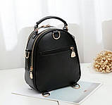 Стильний жіночий рюкзак сумочка, фото 3