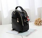 Стильний жіночий рюкзак сумочка, фото 4