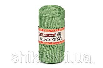 Трикотажный шнур PP Macrame Large 3 mm, цвет Киви