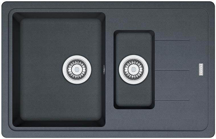 Кухонні мийки Кухонна мийка Franke Franke Basis BFG 651-78, 114.0272.605, графіт
